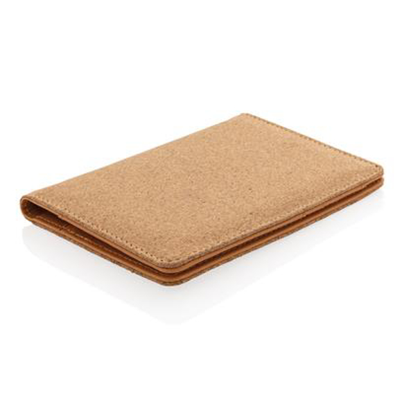 Picture of ECO Cork secure RFID passport cover