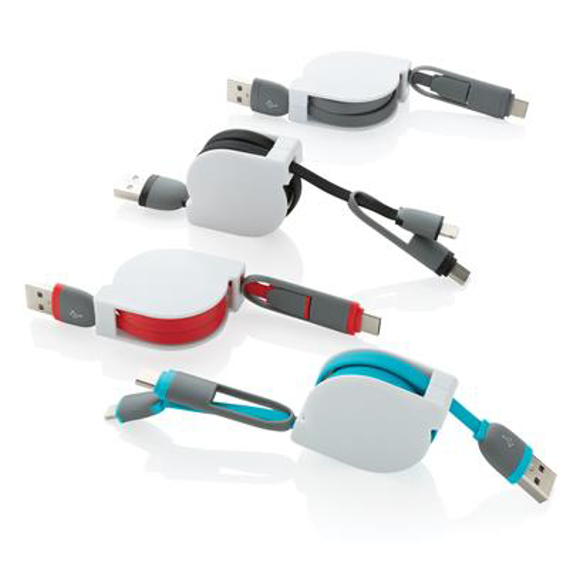 Retractable cable