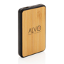 Bamboo powerbank branded
