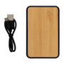 Bamboo powerbank cable