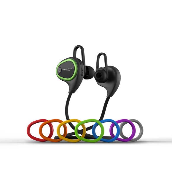 Ring earbuds black