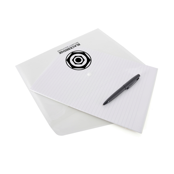 Document wallet white