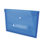 Document wallet blue