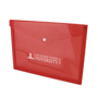 Document wallet red