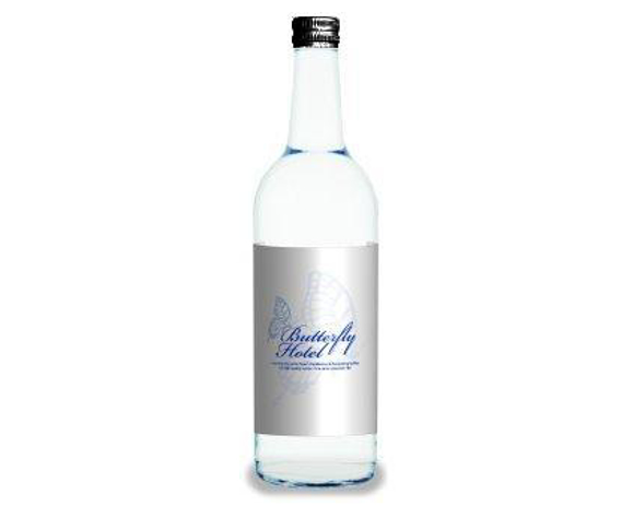 glass bottled water