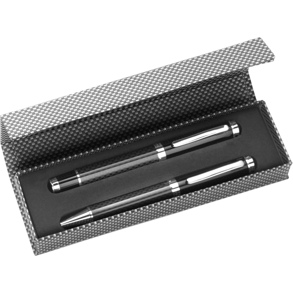 rollerball and pen set in gift box