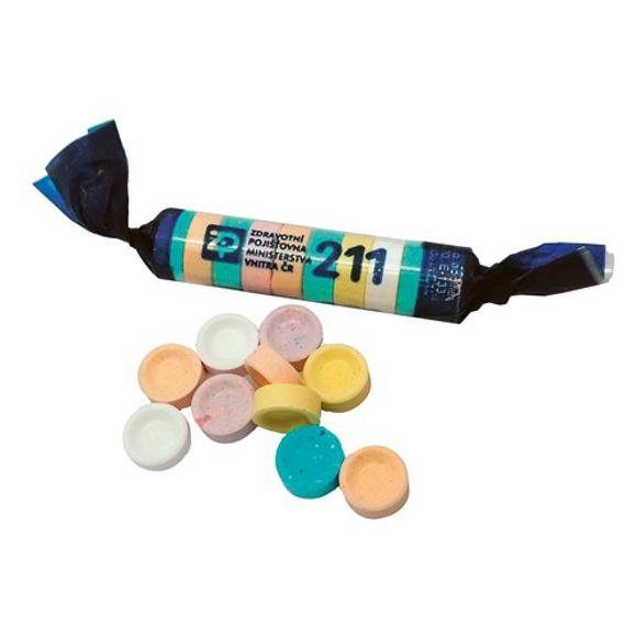 Fizz Sweets roll - fruit