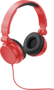 Rally headphones red