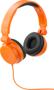 Rally headphones orange