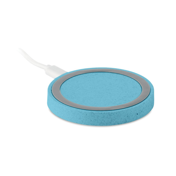 Plato wireless charger blue