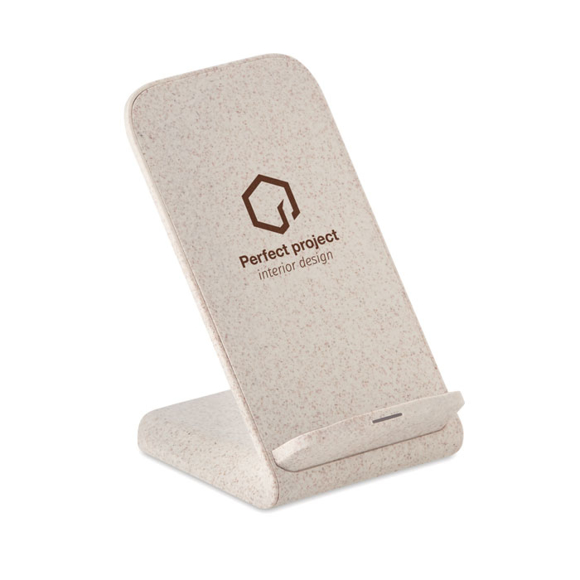 Layaback charger stand