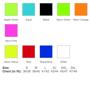 02073 colours sizes