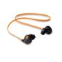 Rockstep earbuds orange