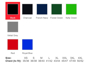02109 sizes and colours