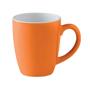 Ceramic mug orange