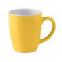 Ceramic mug yellow