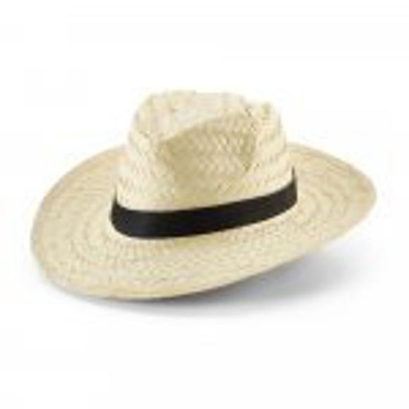 straw hat plain