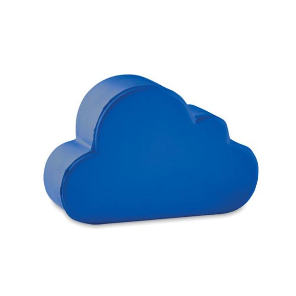 Stress cloud blue
