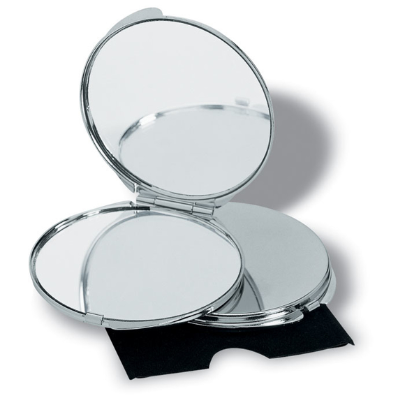 Picture of Chrome compact mirror