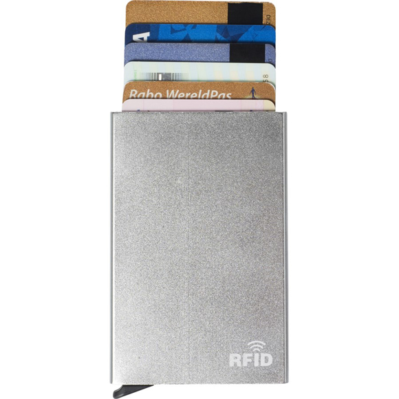 Alu RFID card holder silver