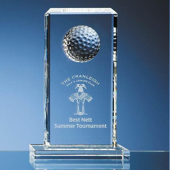 rectangle golf award
