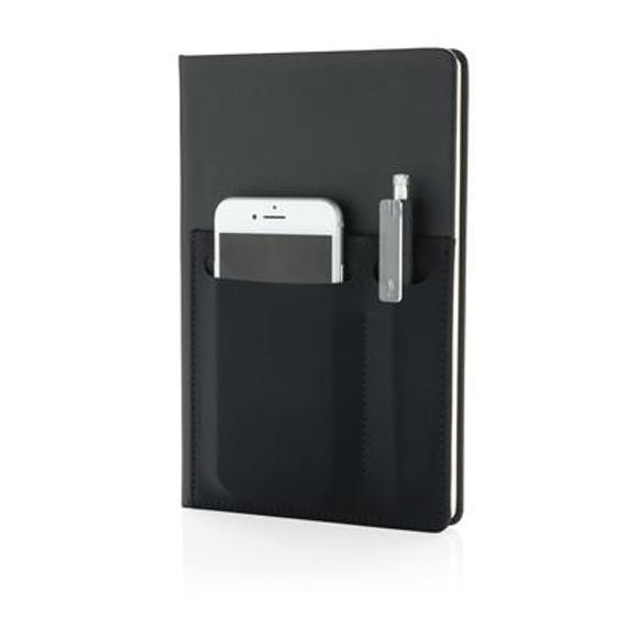 Notebook, a5 smart pockets