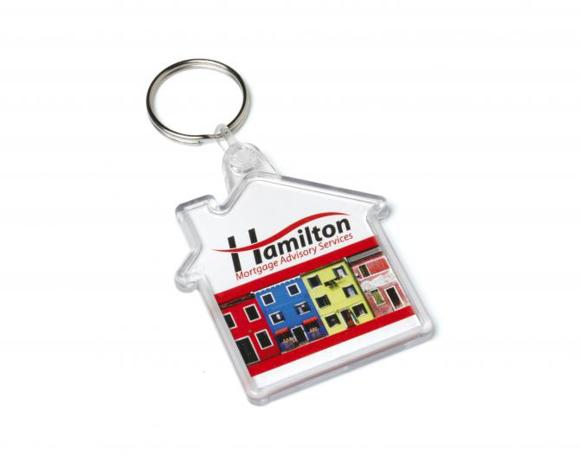 acrylic house keyfob