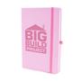 Mole notebook pastel pink