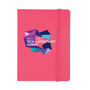Joyce bright notebook pink
