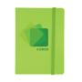 Joyce bright notebook green