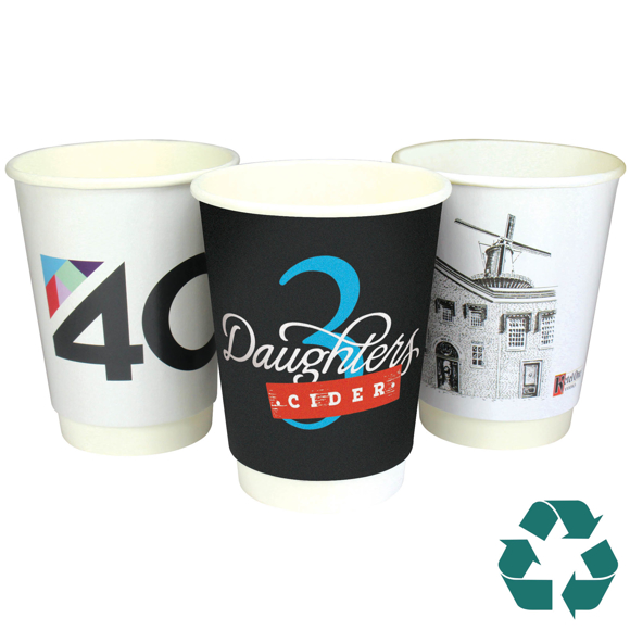 paper cups recyclable double wall