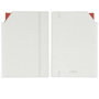 Dual notebook white