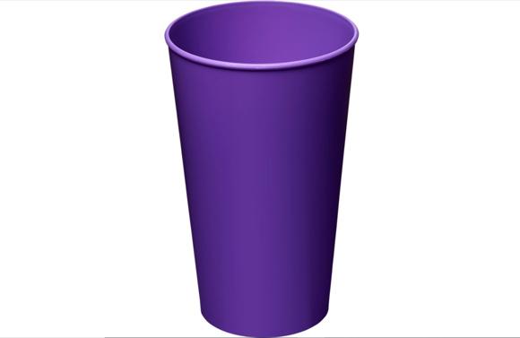 Arena tumbler purple