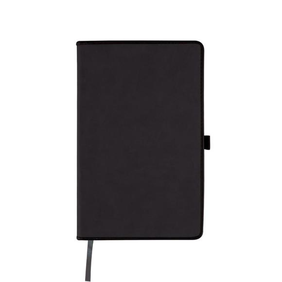 Border notebook black