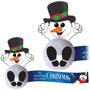 Logobub B snowman