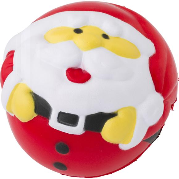 Santa stress ball front