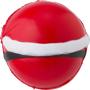 Santa stress ball back