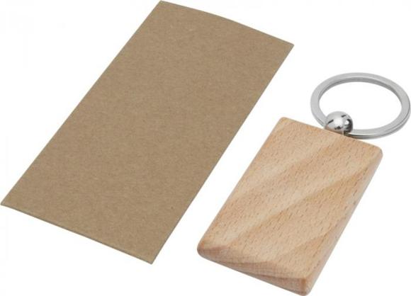 beech keyring rectangle