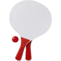Bat and ball set red