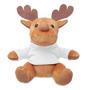 soft toy reindeer white