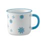 SNOWFLAKE MUG BLUE