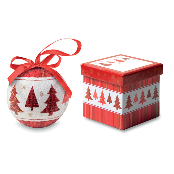 CX1437 bauble and box